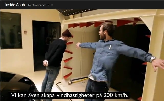 Inside SAAB – Windtunnel (film)