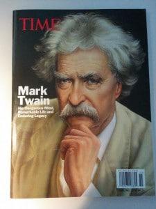 Mark Twain - Time Magazine, våren 2015