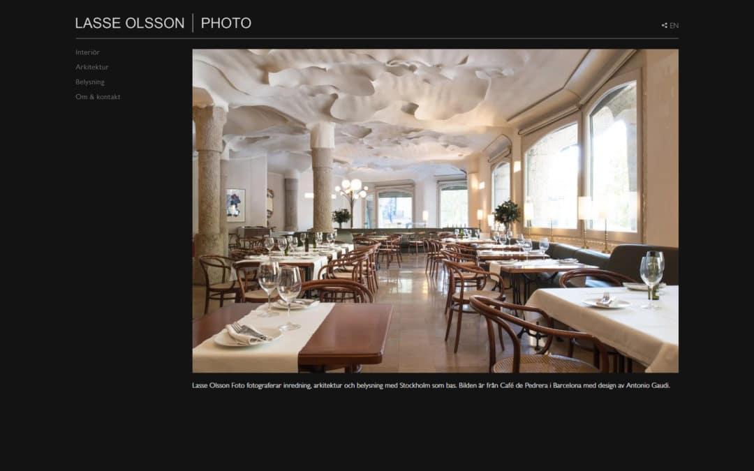 Lasse Olsson Photo webbplats