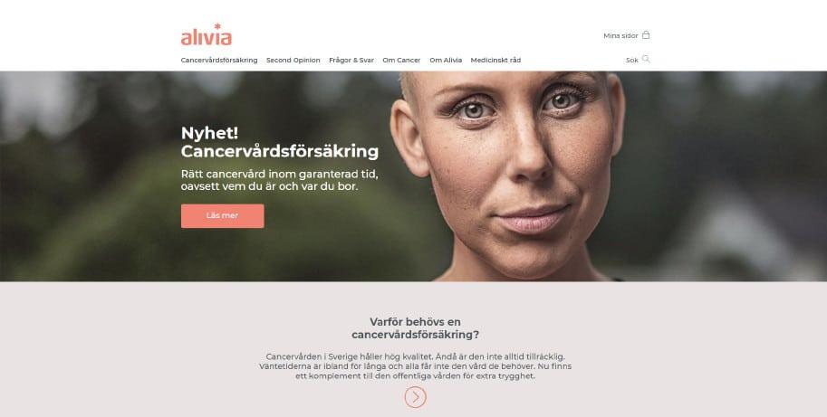 Alivia Cancervårdsförsäkring (webb)